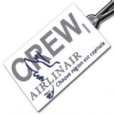 AIRLINAIR Crew Tag